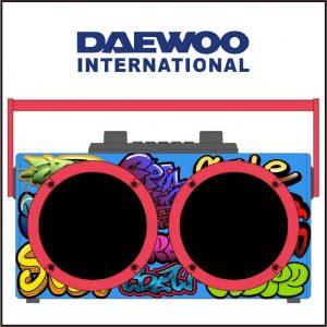 Diseñador de radio Daewoo DSK-340