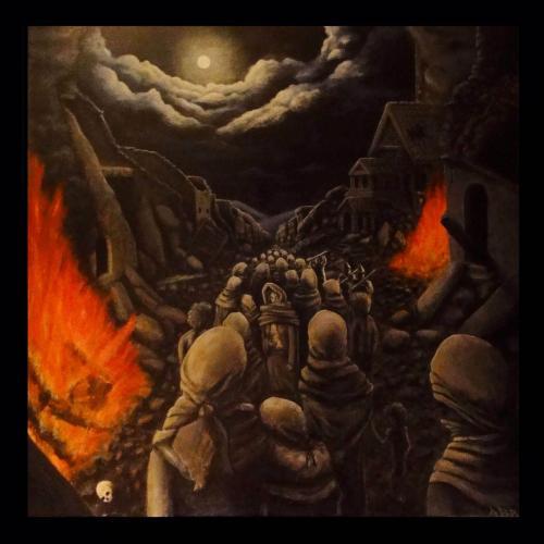 """Obra """"Camino del genocidio"""""""