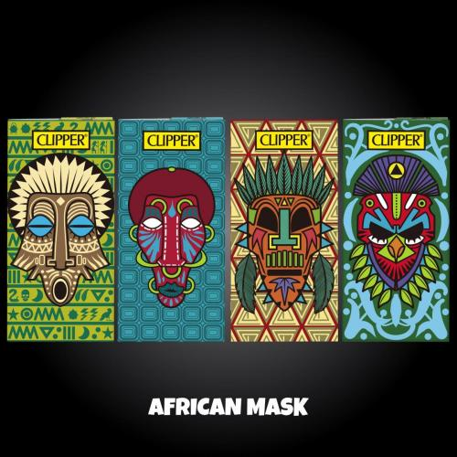 African Mask P