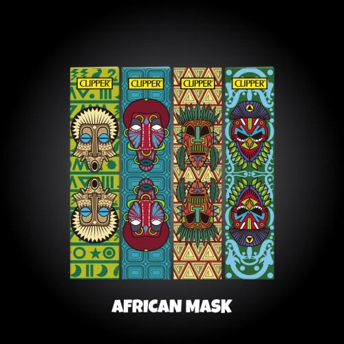 African Mask S