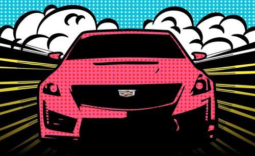 Cadillac  Comic Warhol