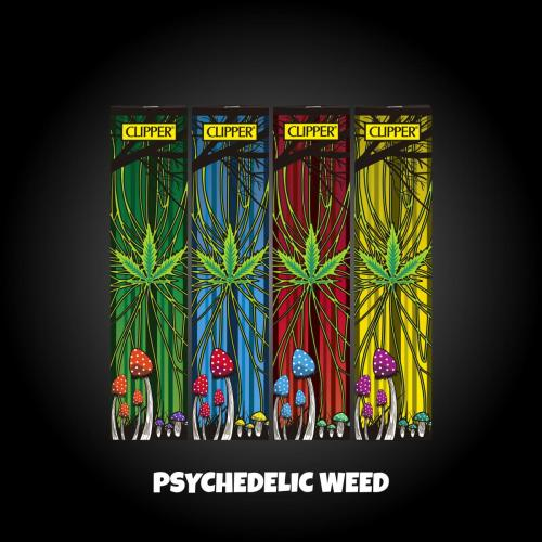 Psychedelic Weed Simple